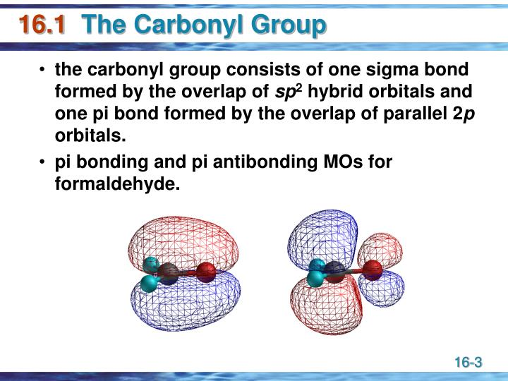 16 1 the carbonyl group