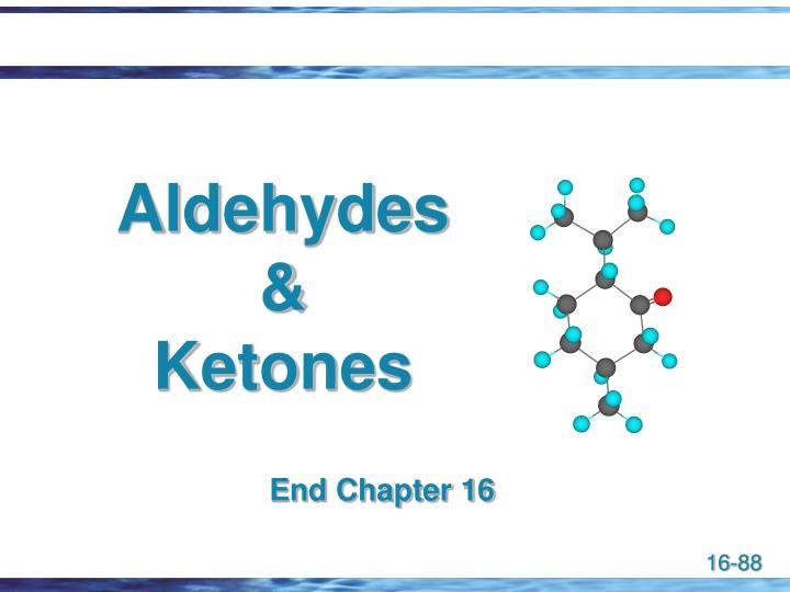 Aldehydes