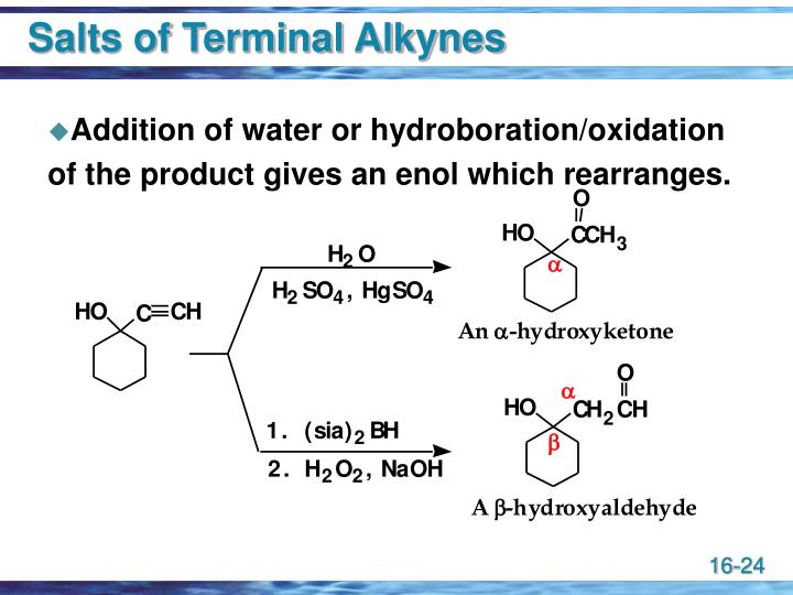 Salts of Terminal Alkynes