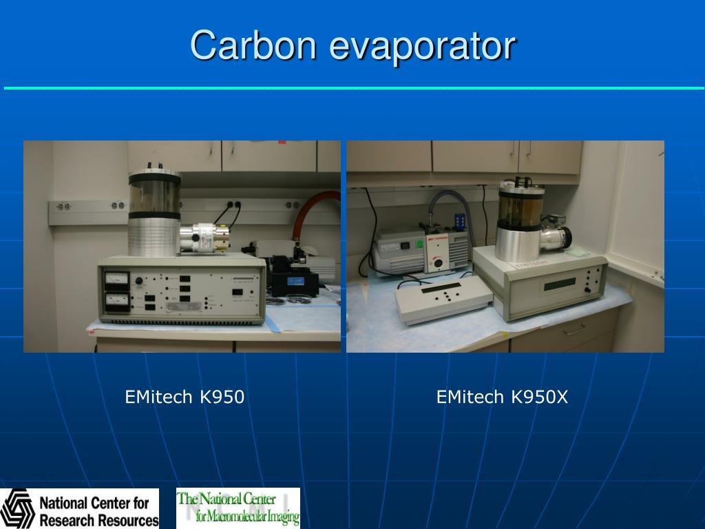Carbon evaporator
