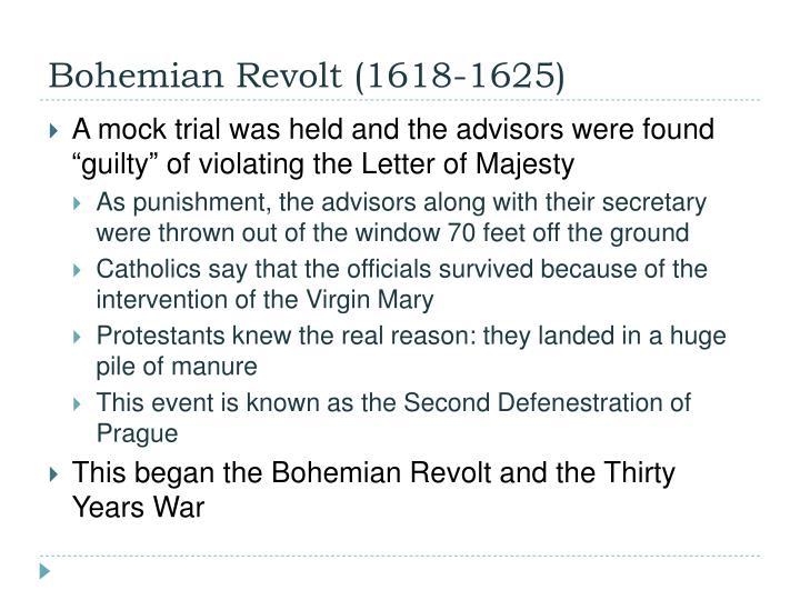 Bohemian Revolt (1618-1625)