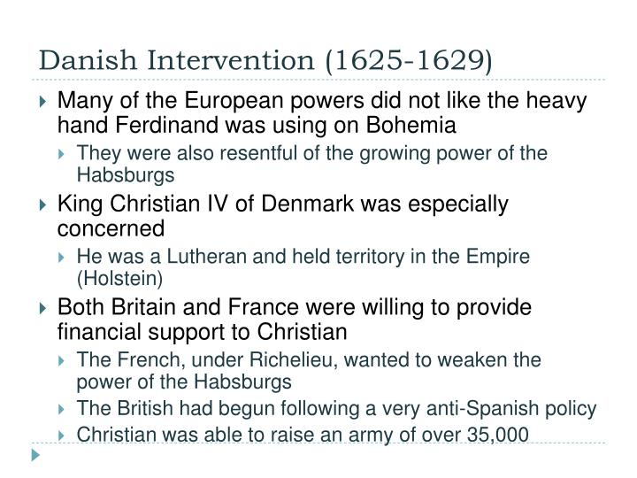 Danish Intervention (1625-1629)
