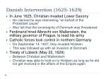 danish intervention 1625 16291