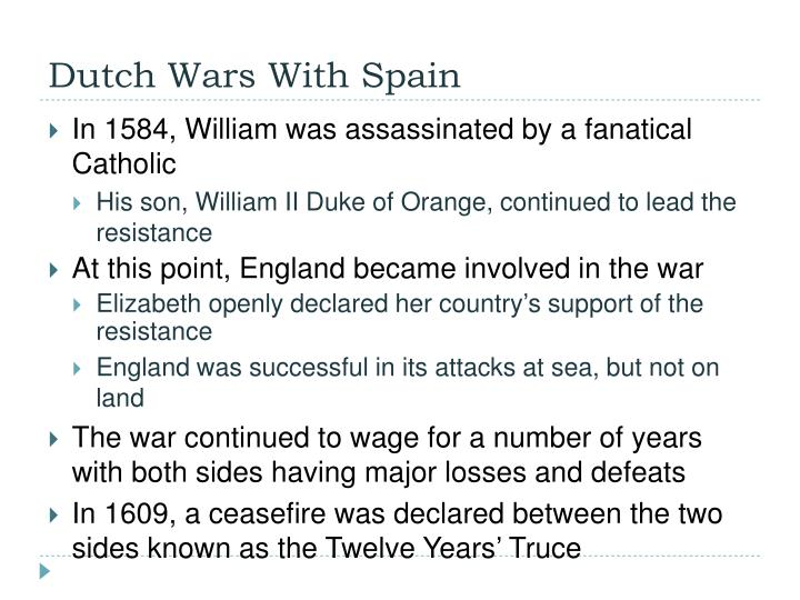 Dutch Wars With Spain