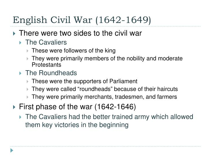 English Civil War (1642-1649)