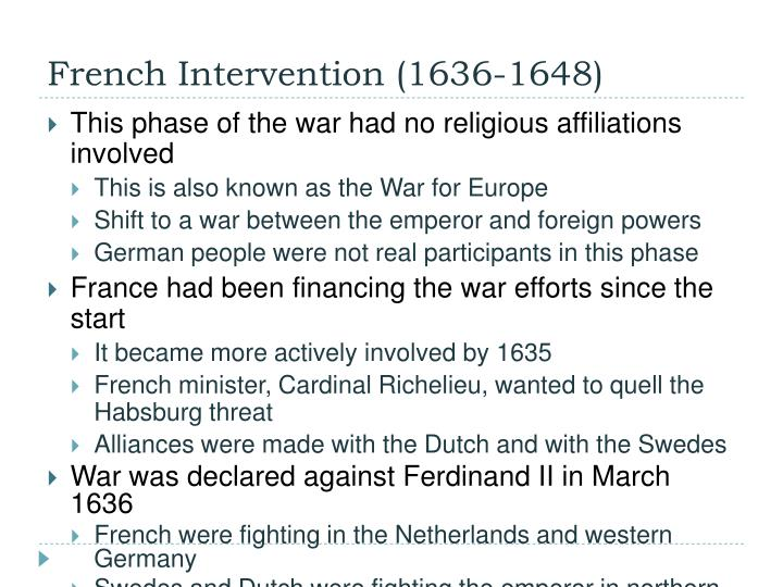 French Intervention (1636-1648)