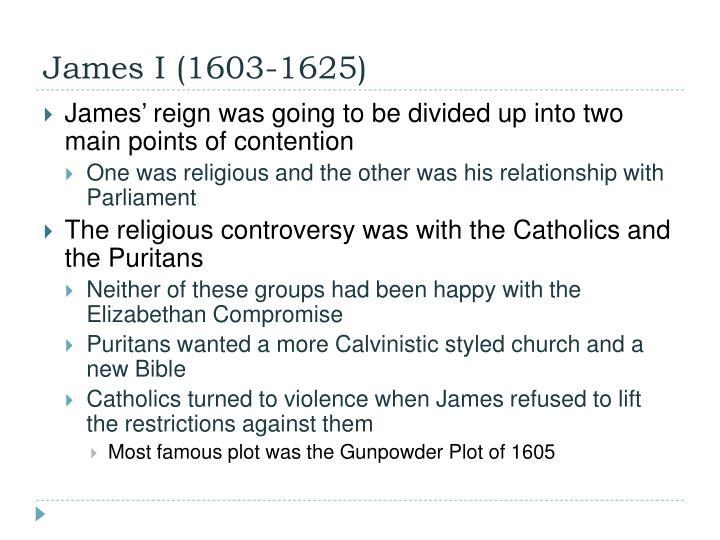 James I (1603-1625)