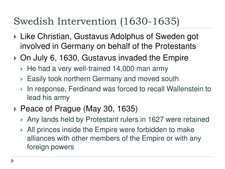 Swedish Intervention (1630-1635)