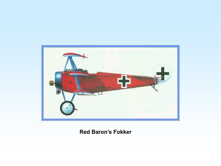 Red Baron's Fokker