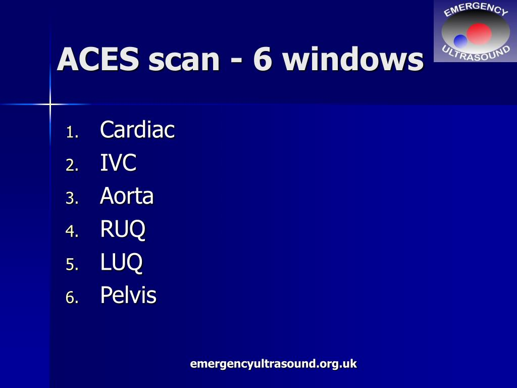 ACES scan - 6 windows
