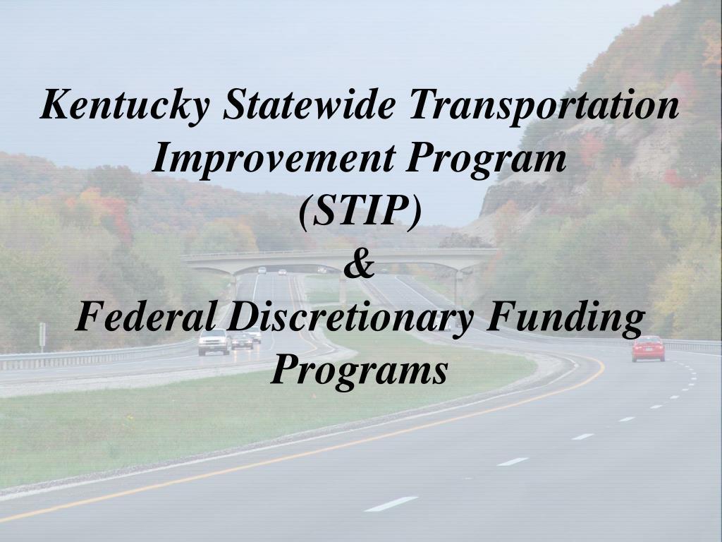 Kentucky Statewide Transportation Improvement Program