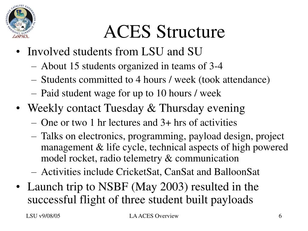ACES Structure