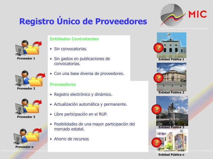 Registro Único de Proveedores