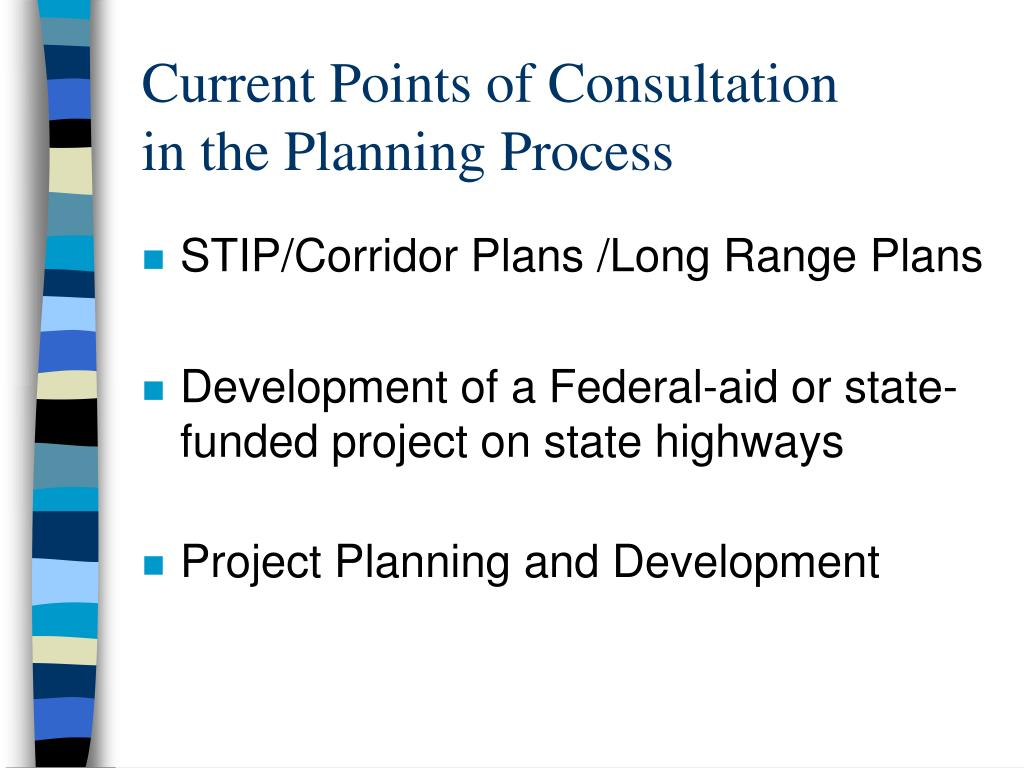 Current Points of Consultation
