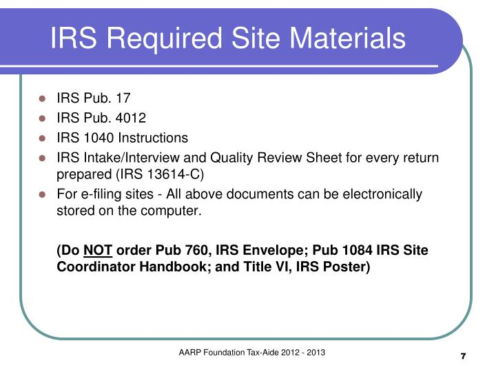 Irs Filing Irs Filing Not Required