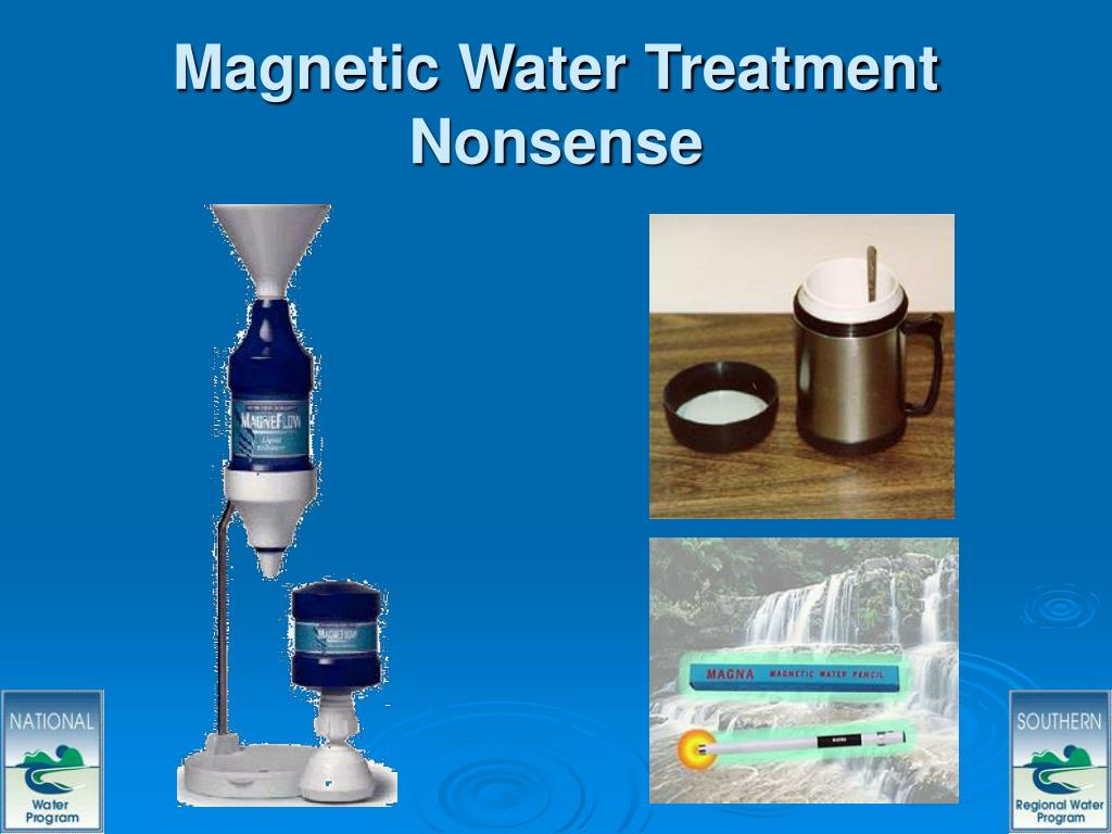 Magnetic Water Treatment Nonsense