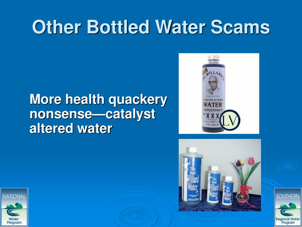 Other Bottled Water Scams