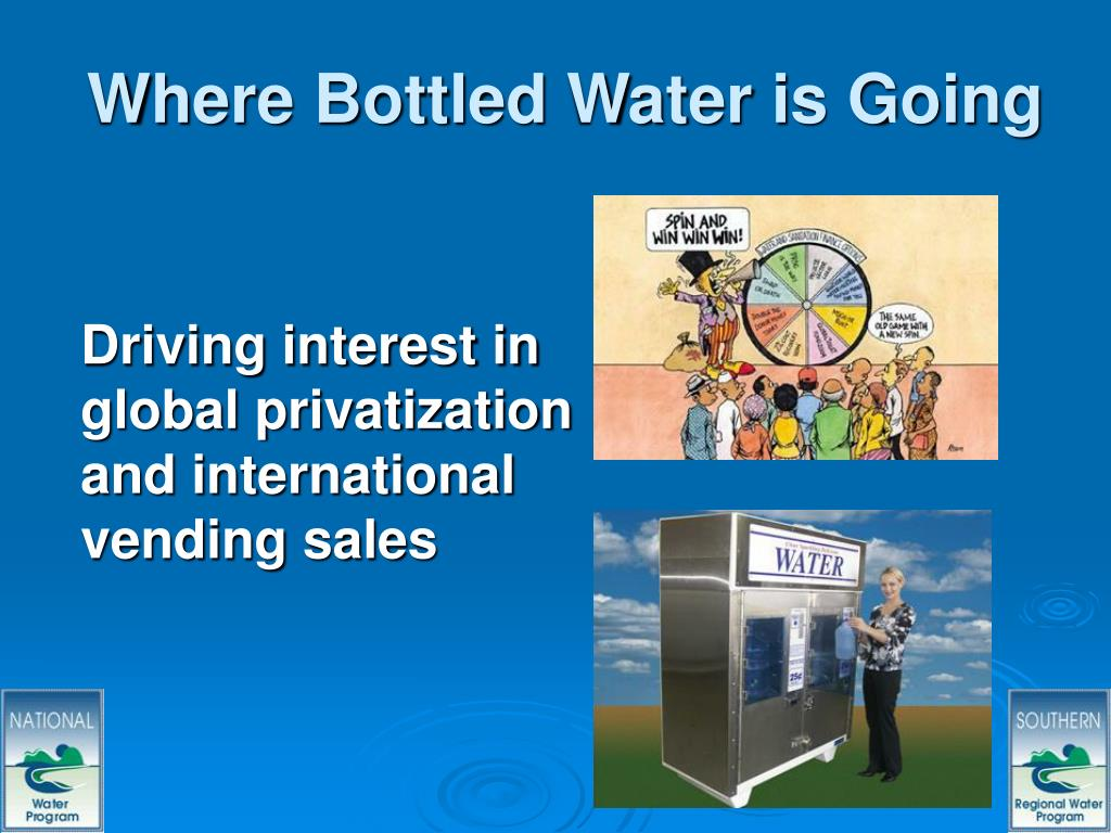 Where Bottled Water is Going