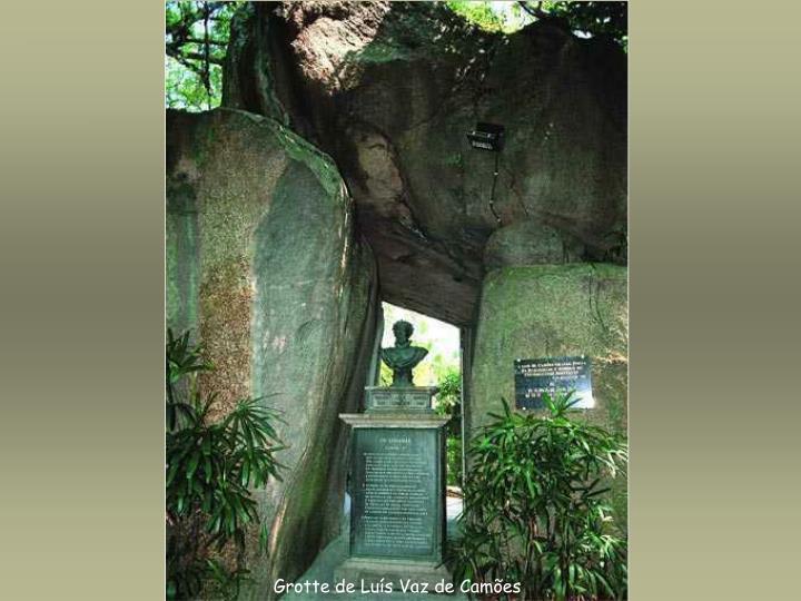 Grotte de Luís Vaz de Camões