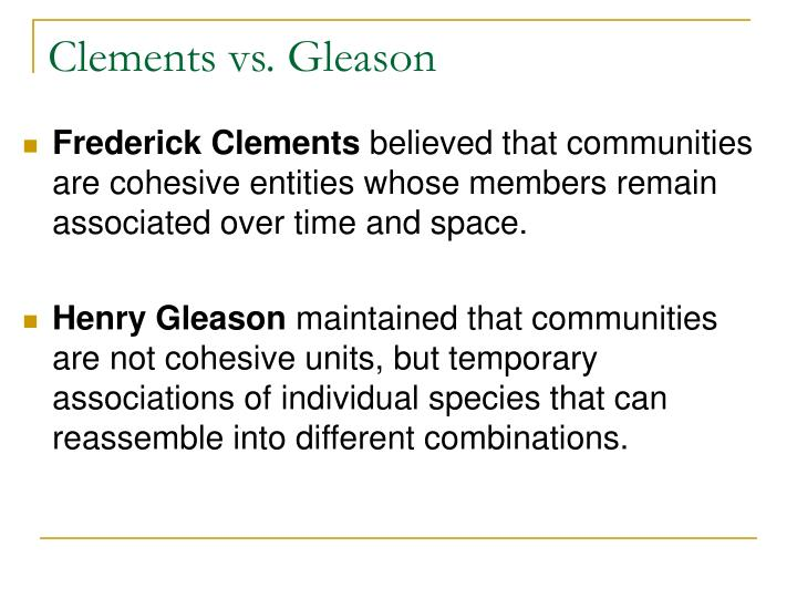 Clements vs. Gleason