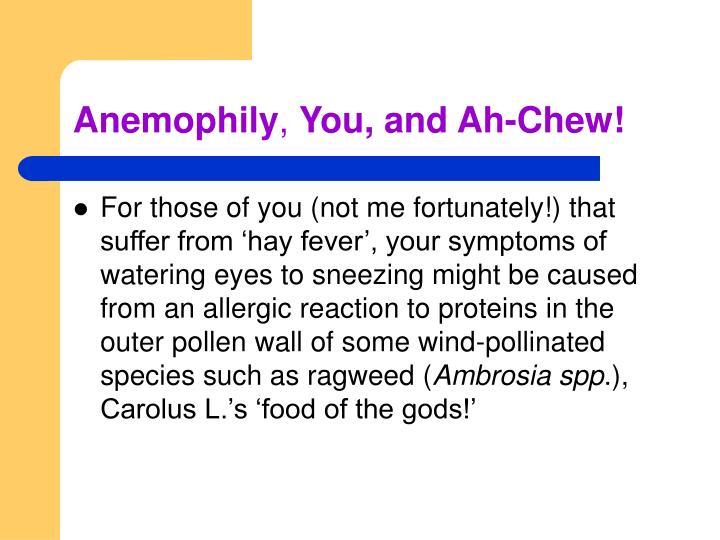 Anemophily