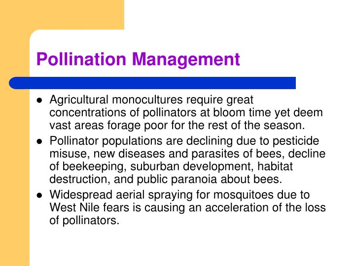 Pollination Management