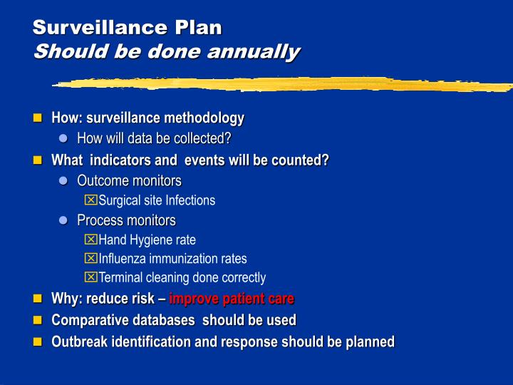 Surveillance Plan