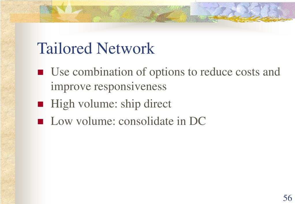 Tailored Network