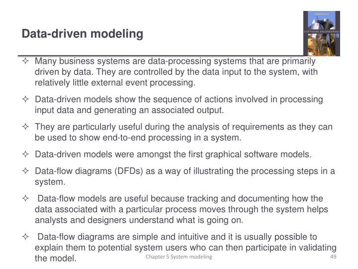 Data-driven modeling