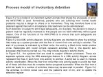 process model of involuntary detention