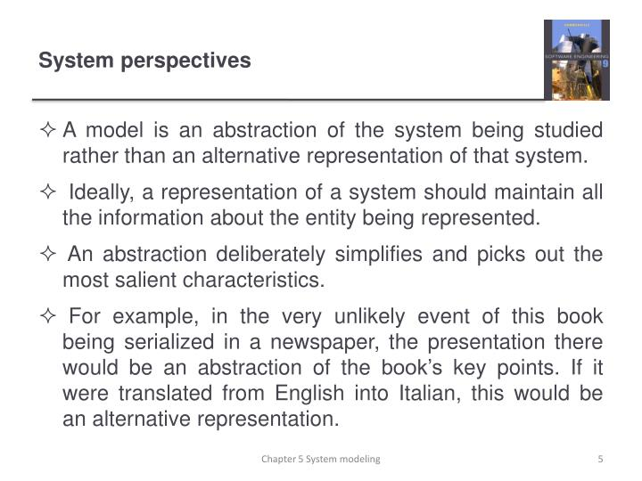 System perspectives