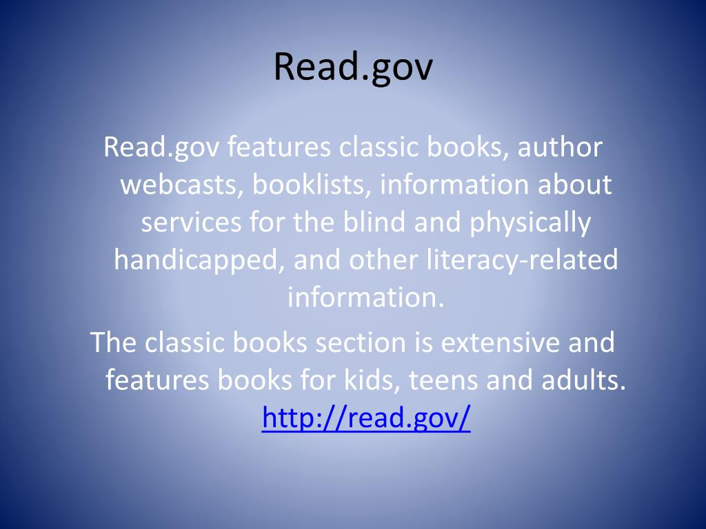 Read.gov