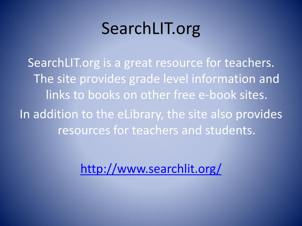 SearchLIT.org