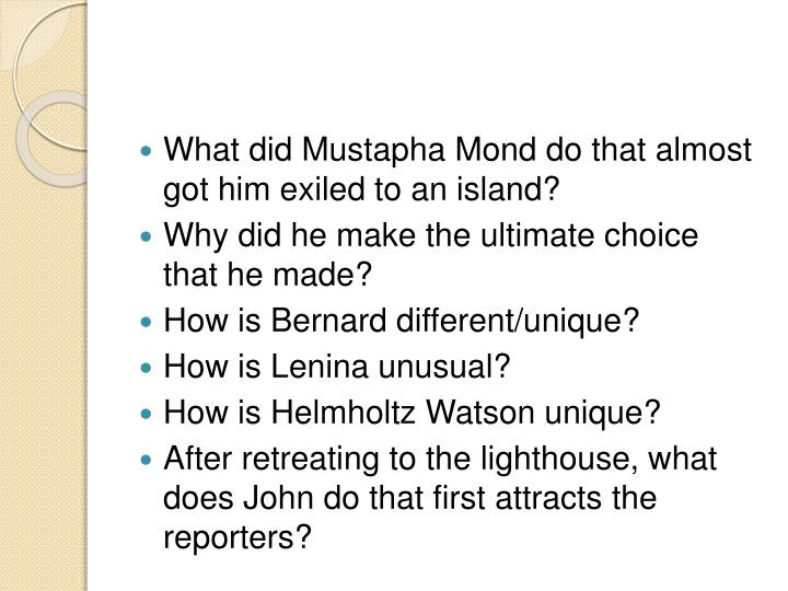 What did Mustapha
