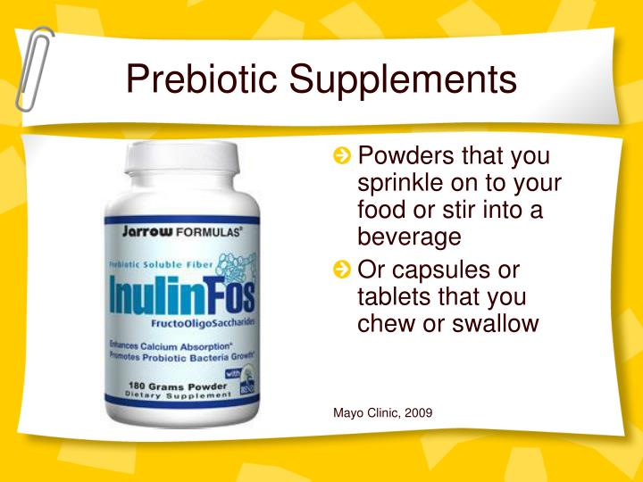 Prebiotic Supplements