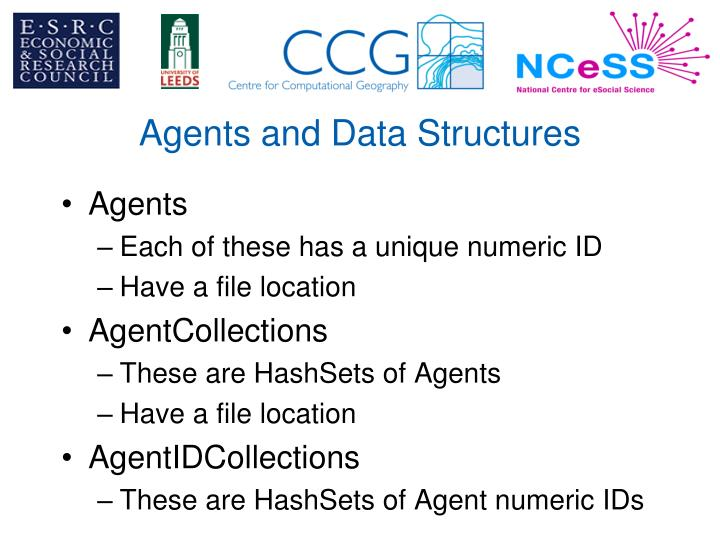 Agents and Data Structures