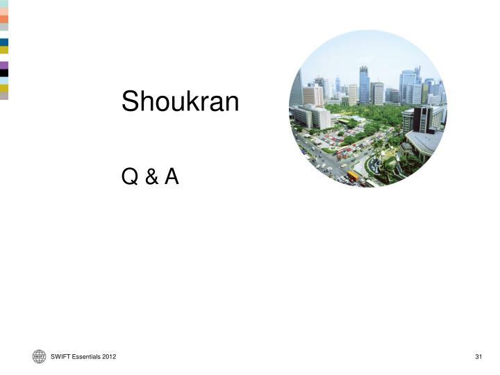 Shoukran