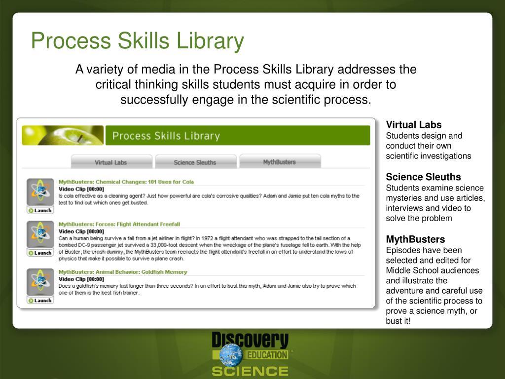 Process Skills Library
