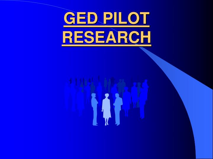 Ged pilot research
