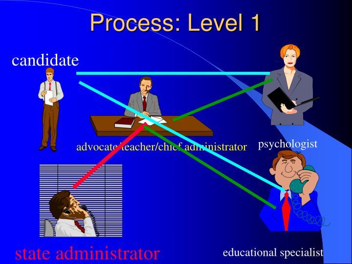 Process: Level 1