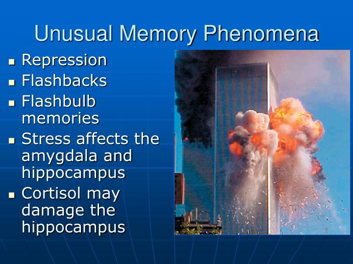 Unusual Memory Phenomena