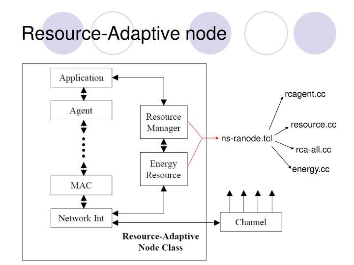 Resource-Adaptive node