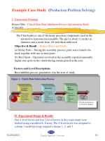 example case study production problem solving1