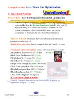 example case study s10 race car optimization