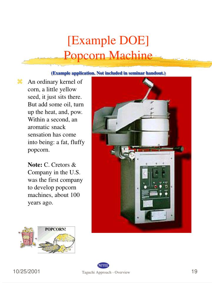 [Example DOE]