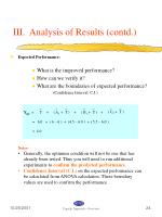 iii analysis of results contd