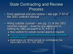 state contracting and review process1
