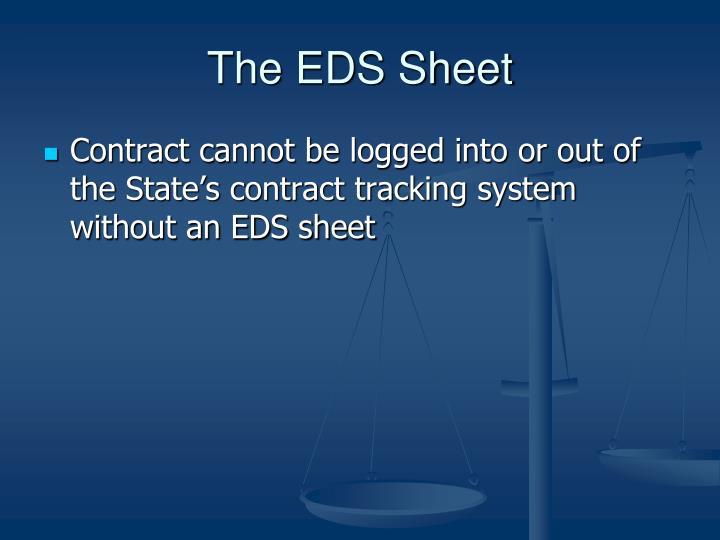 The EDS Sheet