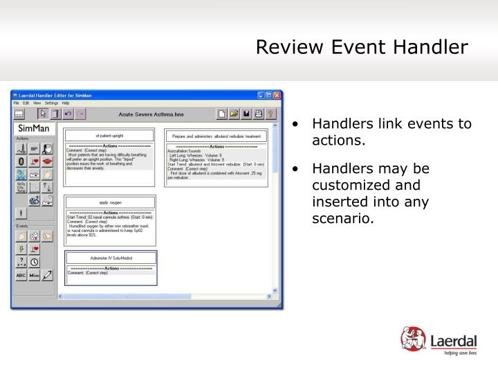 Review Event Handler