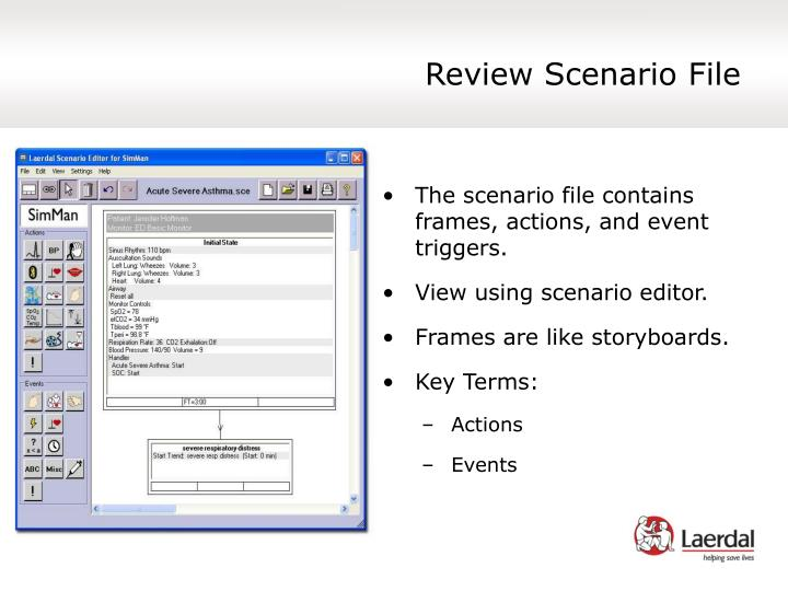 Review Scenario File